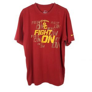 Nike Dri-fit USC Fight On T shirt